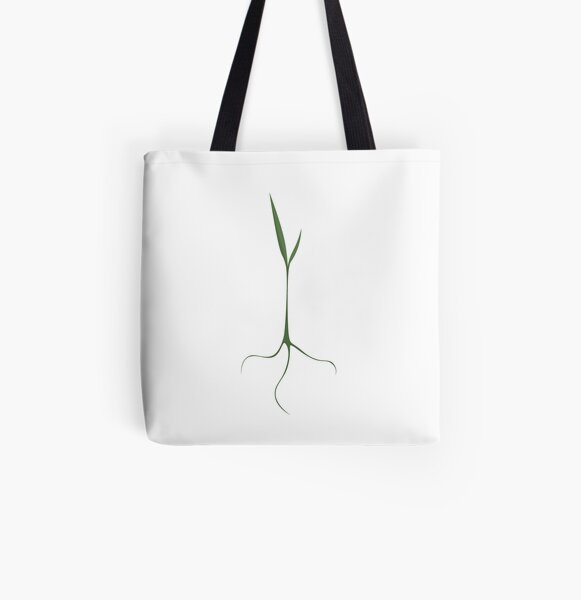 Fresh Sprout All Over Print Tote Bag