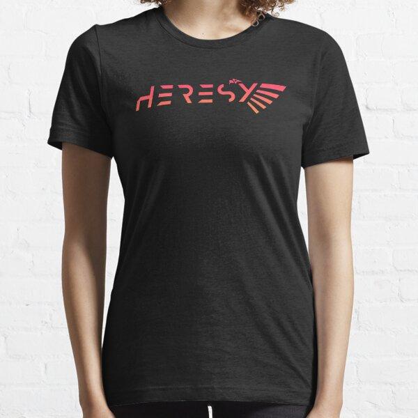 Heresy Gradient Miniature Wargaming Emblem Essential T-Shirt