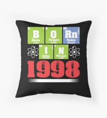 Science Birthday Shirts for Ages 19 Throw Pillow