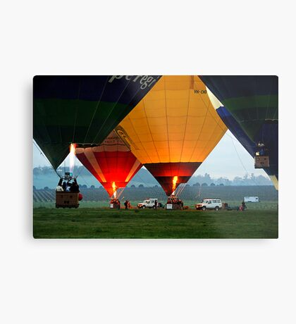 Launch Time Metal Print