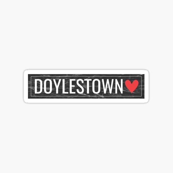 DOYLESTOWN Sticker