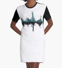 Middle-Hertz Duality  Graphic T-Shirt Dress