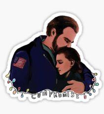 Compromise Sticker