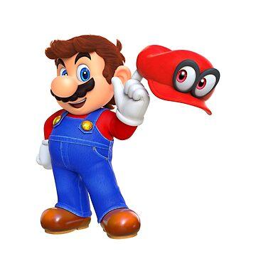 Mario - Super Mario Odyssey by Americ