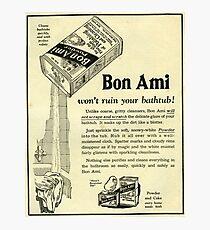 1929 Bon Ami. Every Home Needs It!  Photographic Print
