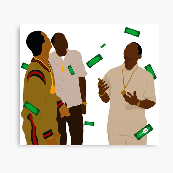 Paid in Full Canvas Print