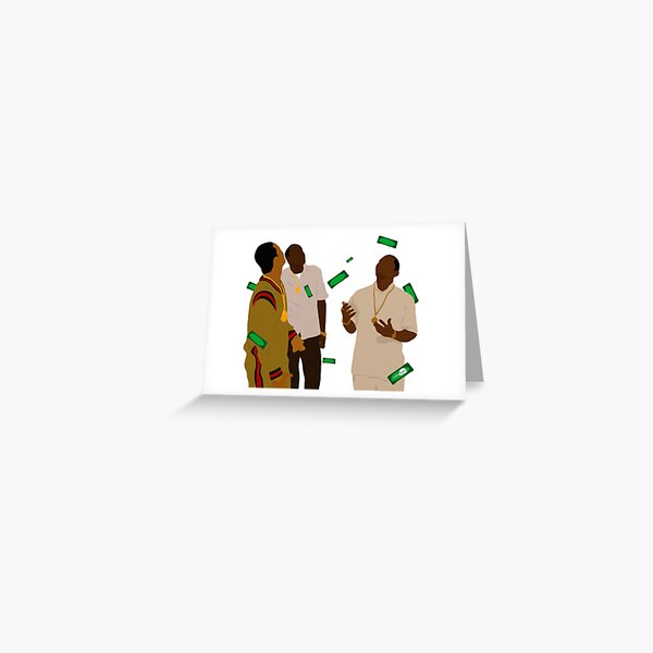 Paid in Full Greeting Card