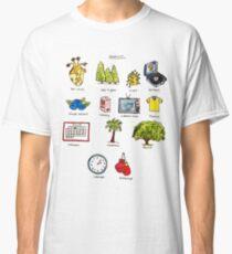 Landmark Doodle  Classic T-Shirt