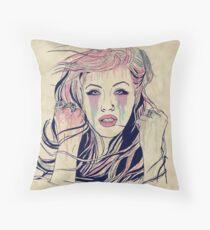 Xtina Colors Throw Pillow