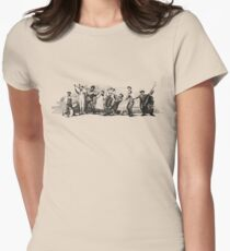 King Oliver's Creole Jazz Band Women's Fitted T-Shirt