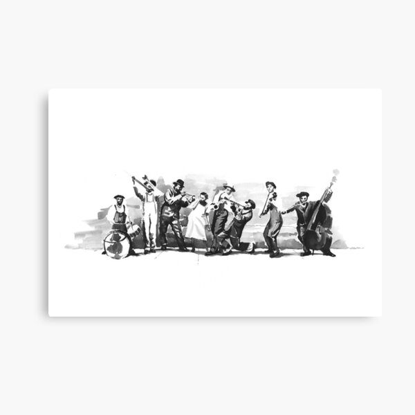 King Oliver's Creole Jazz Band Canvas Print