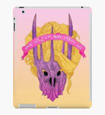 One Wig To Rule Them All iPad Case/Skin