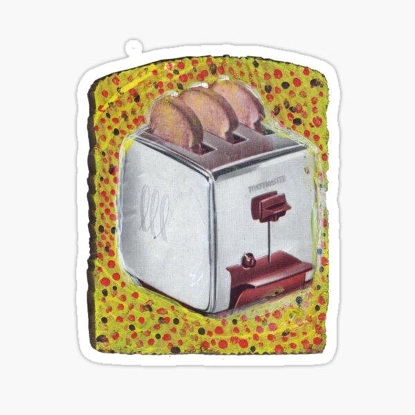 Toaster on Toast Sticker