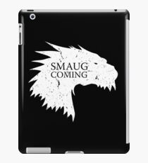 Smaug is coming iPad Case/Skin