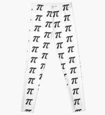 Pi Day Graphic Symbol Leggings