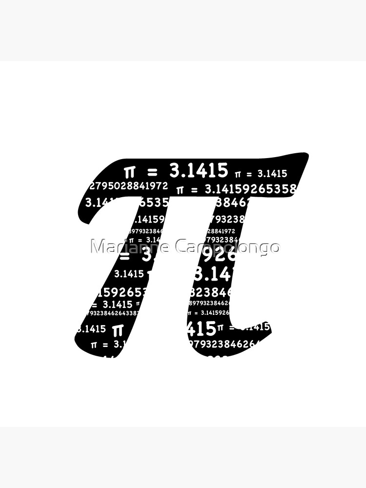 Pi Day Graphic Symbol by campyphotos