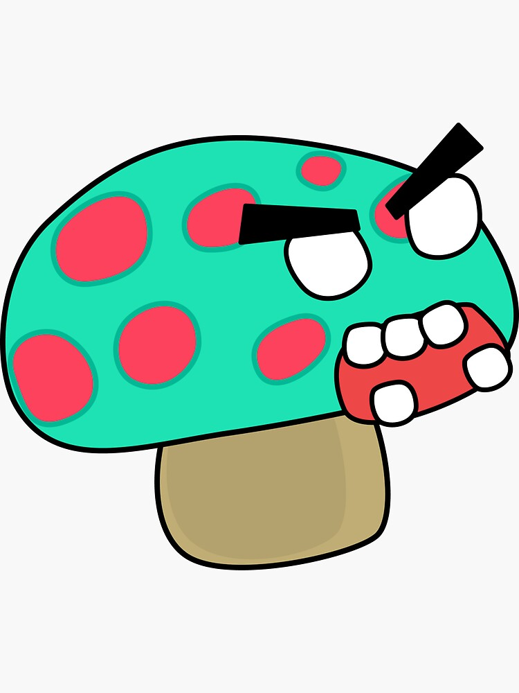 angry zombie mushroom by shortstack