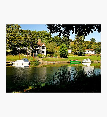 River Bank View Photographic Print