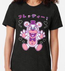 Kawaii Funtime PINK Tri-blend T-Shirt