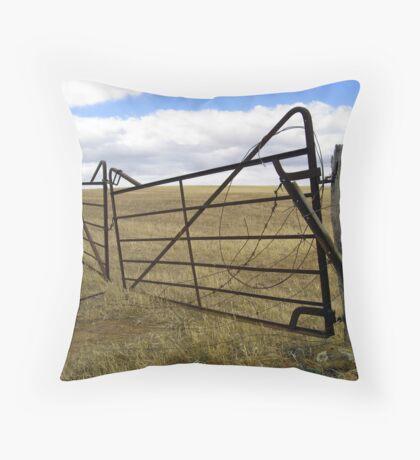 Gateway to Somewhere... Throw Pillow