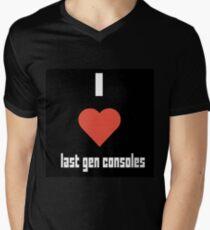 I Heart Last Gen Consoles Men's V-Neck T-Shirt