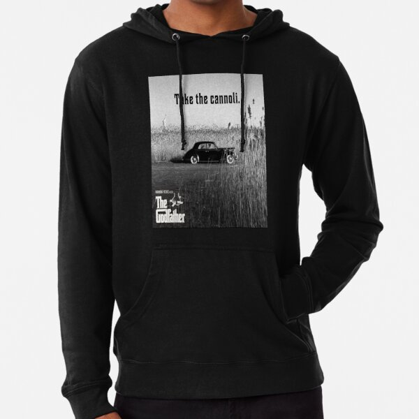 The Godfather Take the Cannoli Lightweight Hoodie