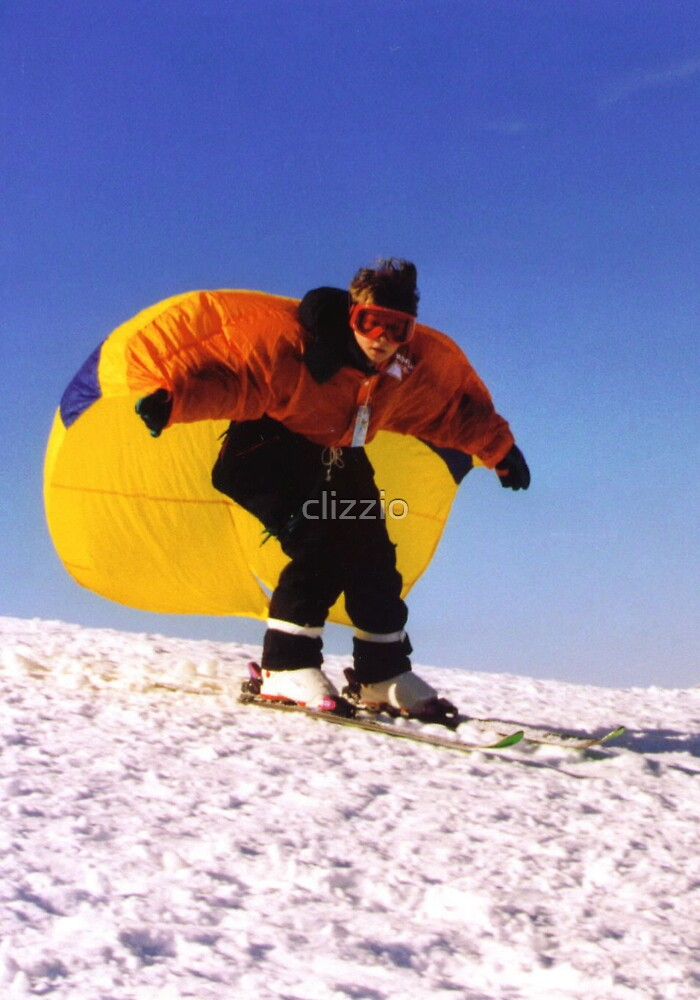 Flying Down the Hill by clizzio