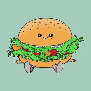 Veggie Burger by pigboom
