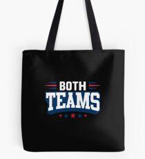 Both Teams Tote Bag