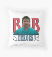 Bob Newby-Not All Heroes Wear Capes Throw Pillow