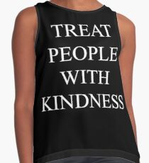 TREAT PEOPLE WITH KINDNESS Contrast Tank