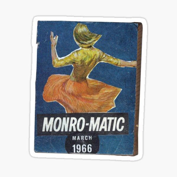 Monro-Matic Sticker