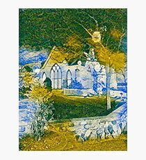 Ghostly Church  Photographic Print
