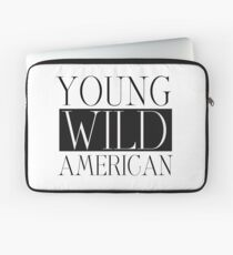 Young Wild American Lady Gaga Inspired  Laptop Sleeve