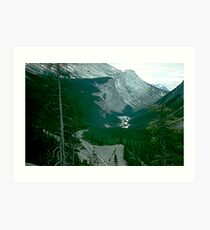 Rocky Mountain Drive Art Print