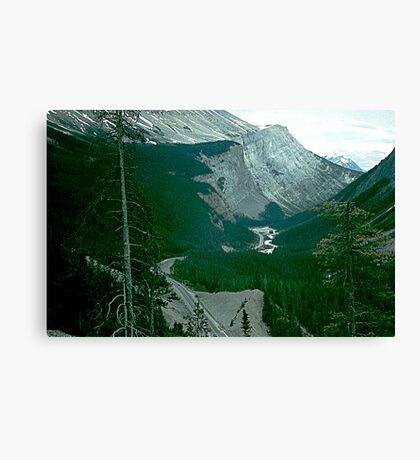 Rocky Mountain Drive Canvas Print