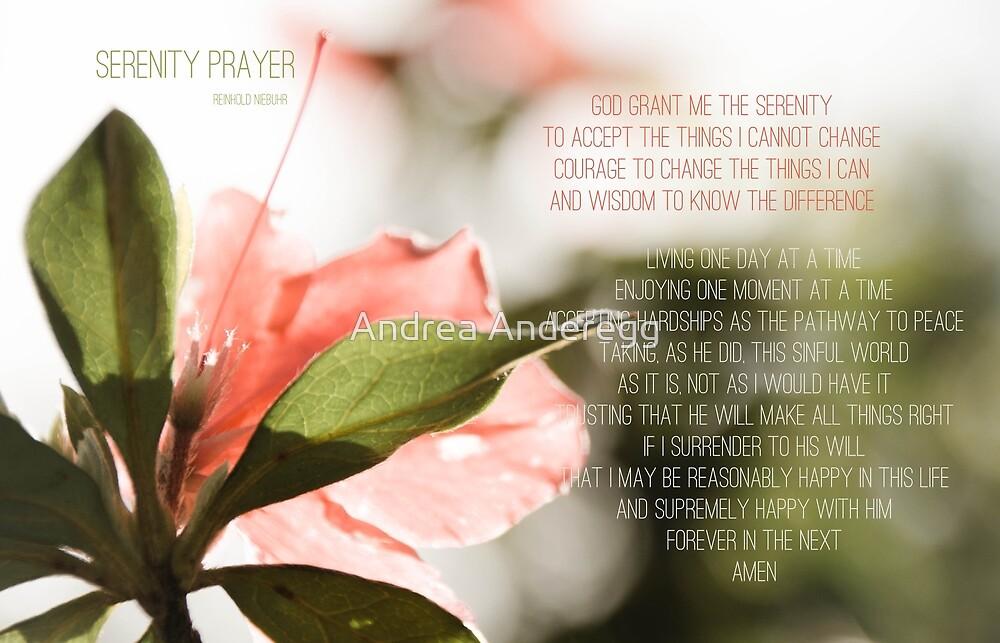 Serenity Prayer by andreaanderegg
