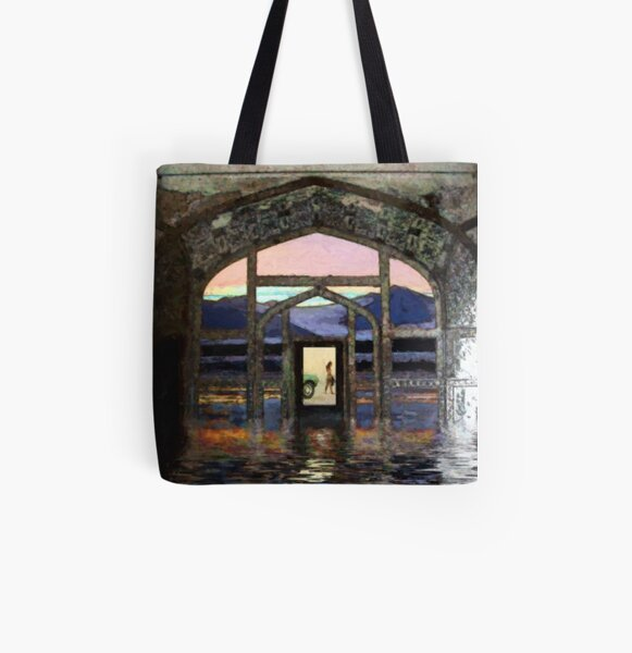 mustang flood All Over Print Tote Bag