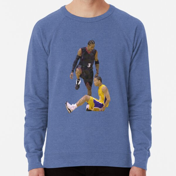 Allen Iverson Steps Over Tyronn Lue Low Poly Lightweight Sweatshirt