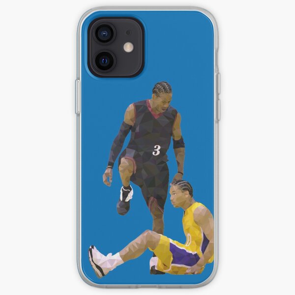 Allen Iverson enjambe Tyronn Lue Low Poly Coque souple iPhone