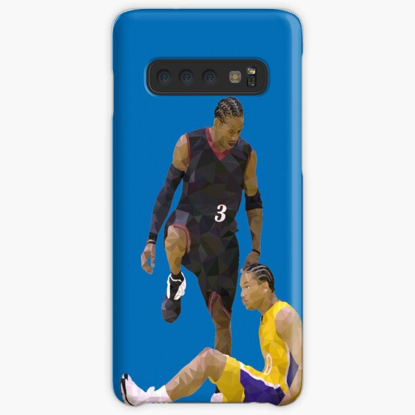 Allen Iverson Steps Over Tyronn Lue Low Poly Samsung Galaxy Snap Case