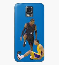 20466c598302 Allen Iverson Steps Over Tyronn Lue Low Poly Case Skin for Samsung Galaxy