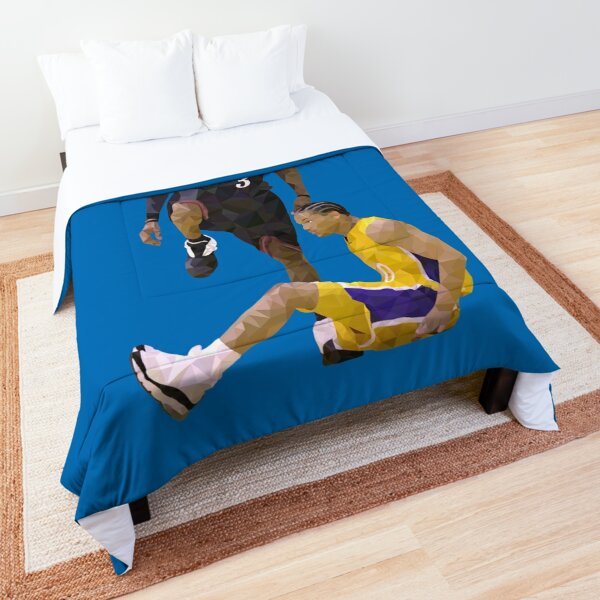 Allen Iverson Steps Over Tyronn Lue Low Poly Comforter