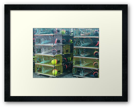 Lobster Traps by George Cousins