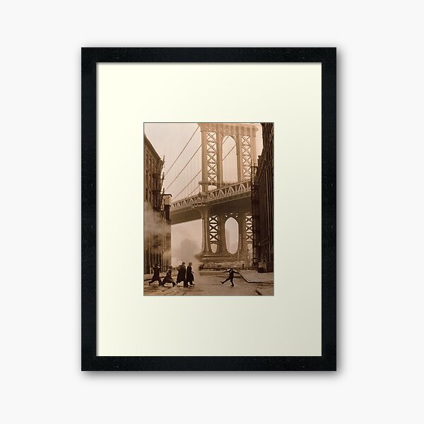 Once Upon a Time in America Framed Art Print