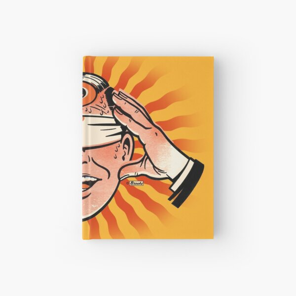 Mr. ? Knows All Hardcover Journal
