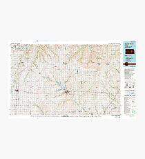 USGS TOPO Map Kansas KS Council Grove 512899 1985 100000 Photographic Print