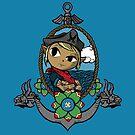 Legend Of Zelda - Captain Tetra by Seignemartin