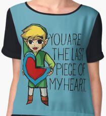 Legend Of Zelda - The Last Piece Women's Chiffon Top