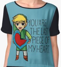 Legend Of Zelda - The Last Piece Chiffon Top